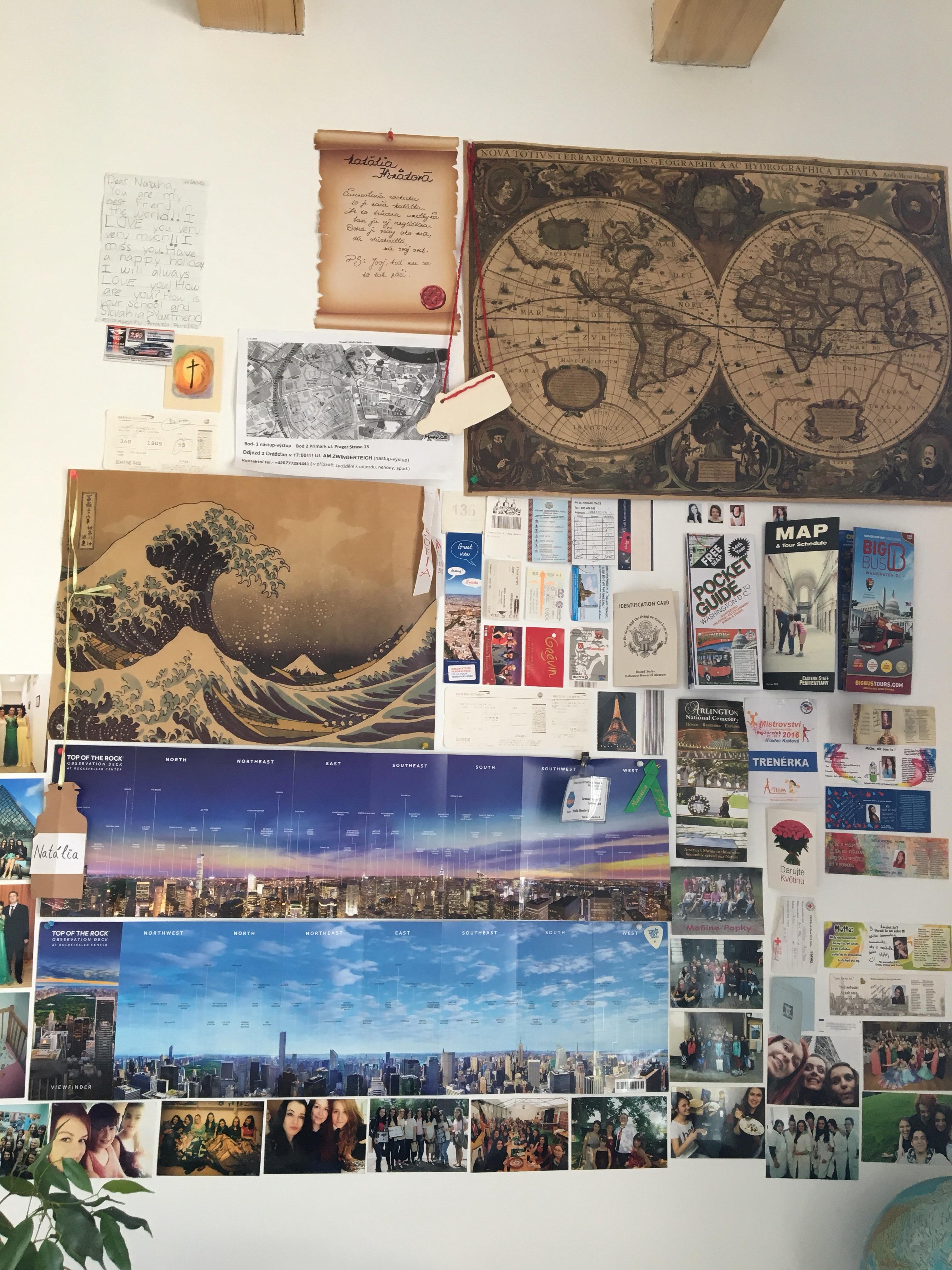 Down memory lane wall