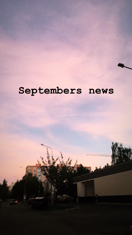 Septembers news
