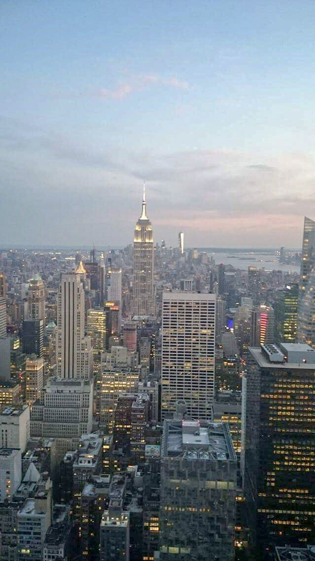Favourite place in the world- Top of the Rock