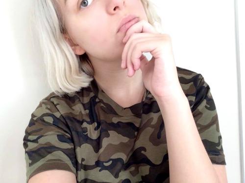 Caumouflage shirt